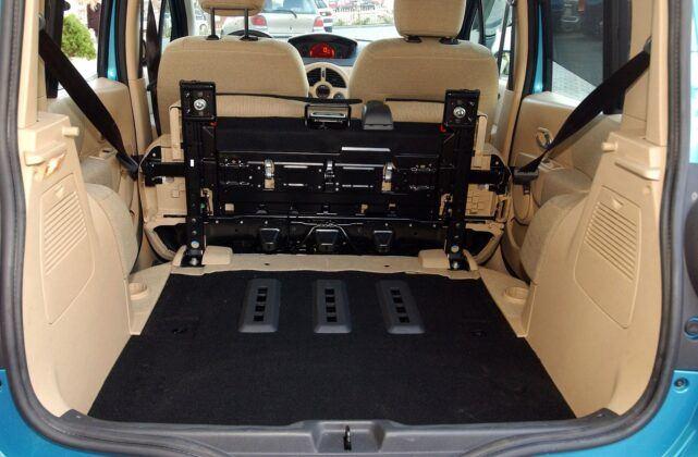 Renault Modus bagażnik