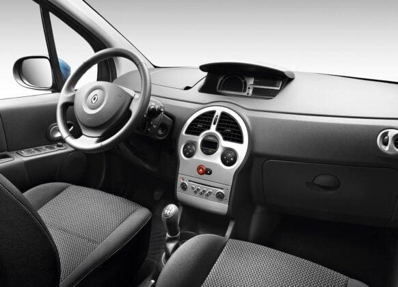 Renault Modus deska rozdzielcza