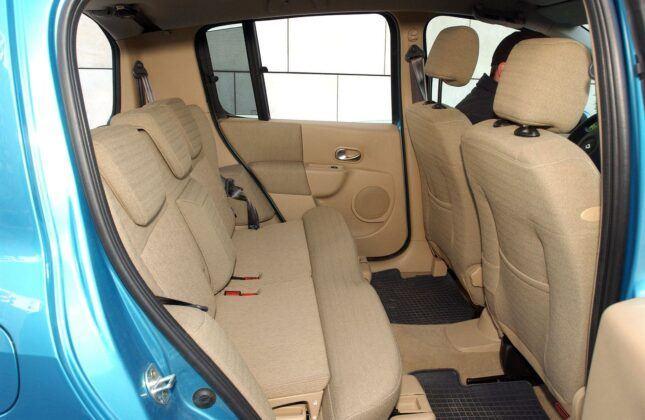 Renault Modus kanapa