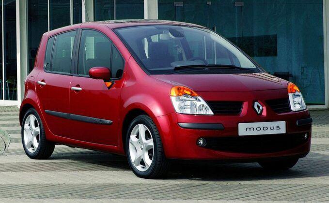 Renault Modus przed liftingiem