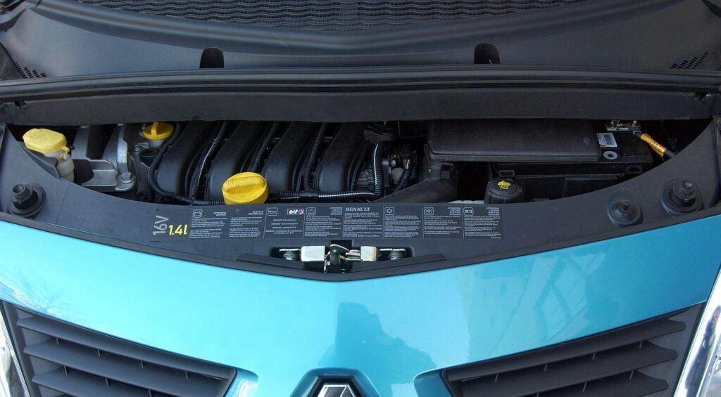 Renault Modus silnik