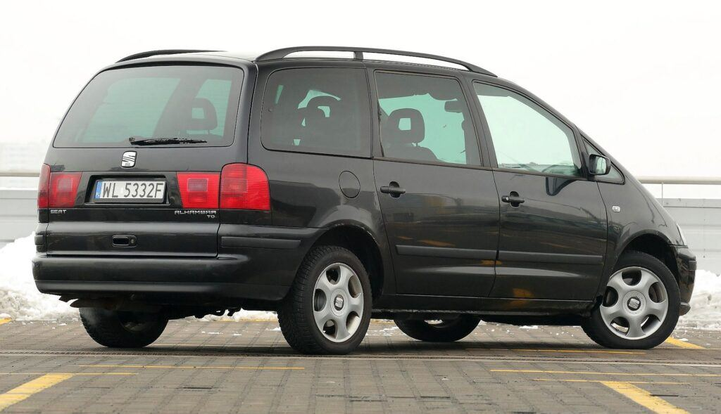 SEAT Alhambra I FL 1.9TDI 6MT 2002r. DD