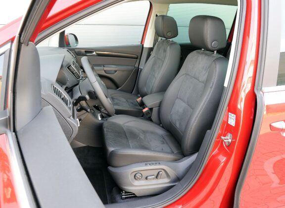 Seat Alhambra II fotel kierowcy