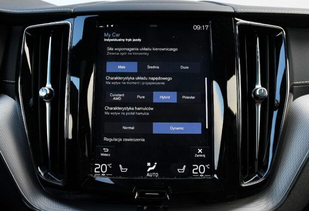 Volvo XC60 II ekran