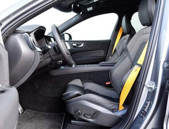 Volvo XC60 II fotel kierowcy