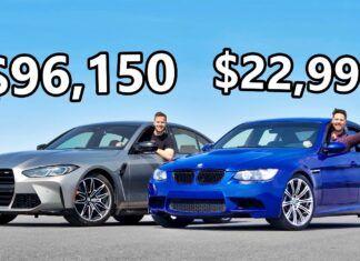 Nowsze znaczy lepsze? Porównanie dwóch generacji BMW M3
