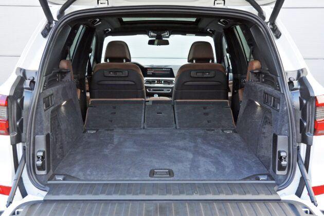 BMW X5 - bagażnik