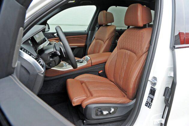 BMW X5 - fotele przednie