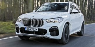 BMW X5 - przód