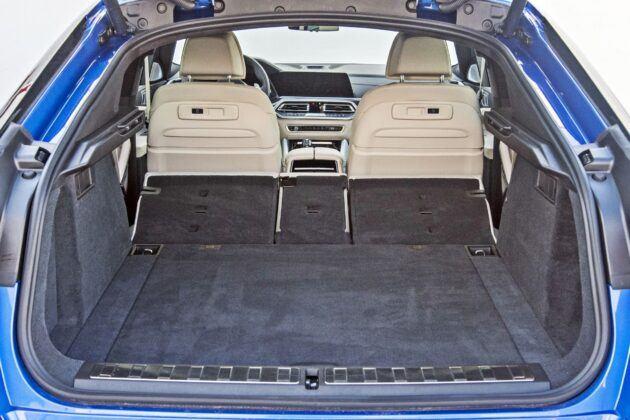 BMW X6 - bagażnik