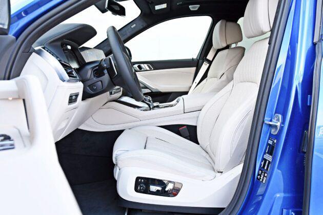 BMW X6 - fotele przednie