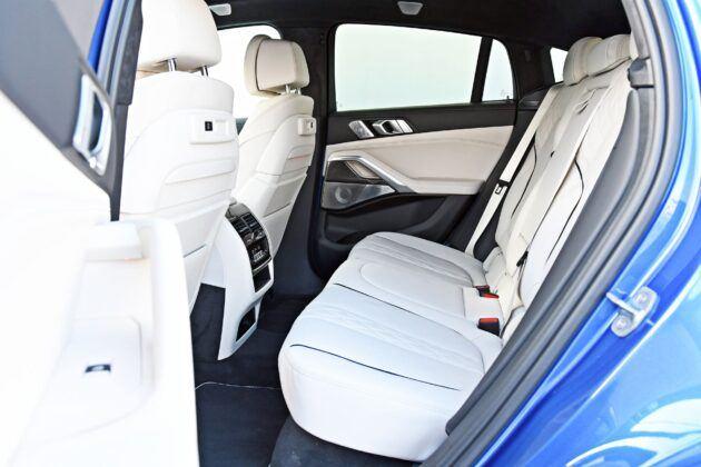 BMW X6 - tylna kanapa
