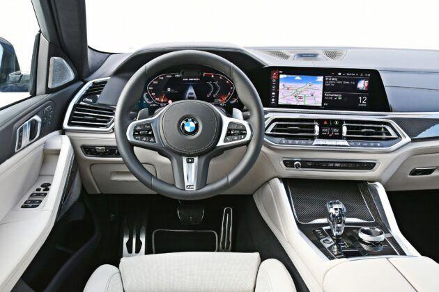 BMW X6 - deska rozdzielcza