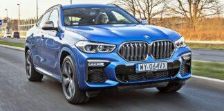 BMW X6 - przód