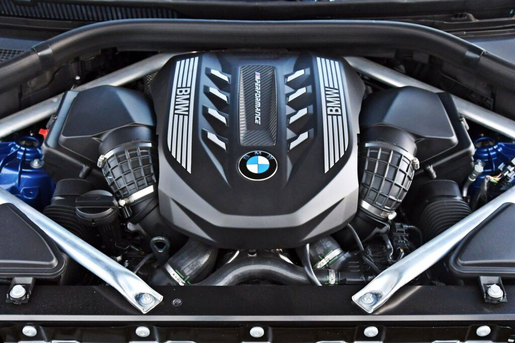 BMW X6 - silnik