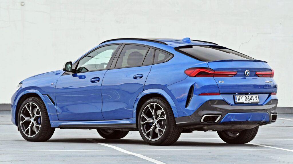 BMW X6 - tył