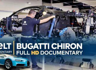 Tak powstaje Bugatti Chiron. Produkcja hiperauta od kuchni