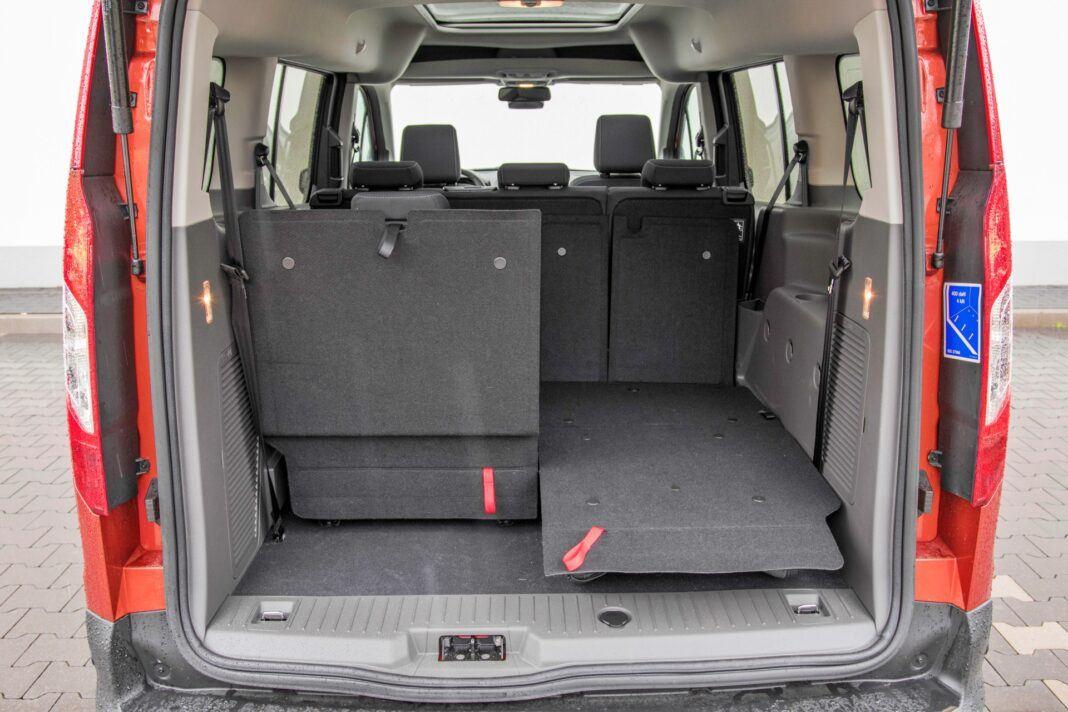 Ford Grand Tourneo Connect - bagażnik
