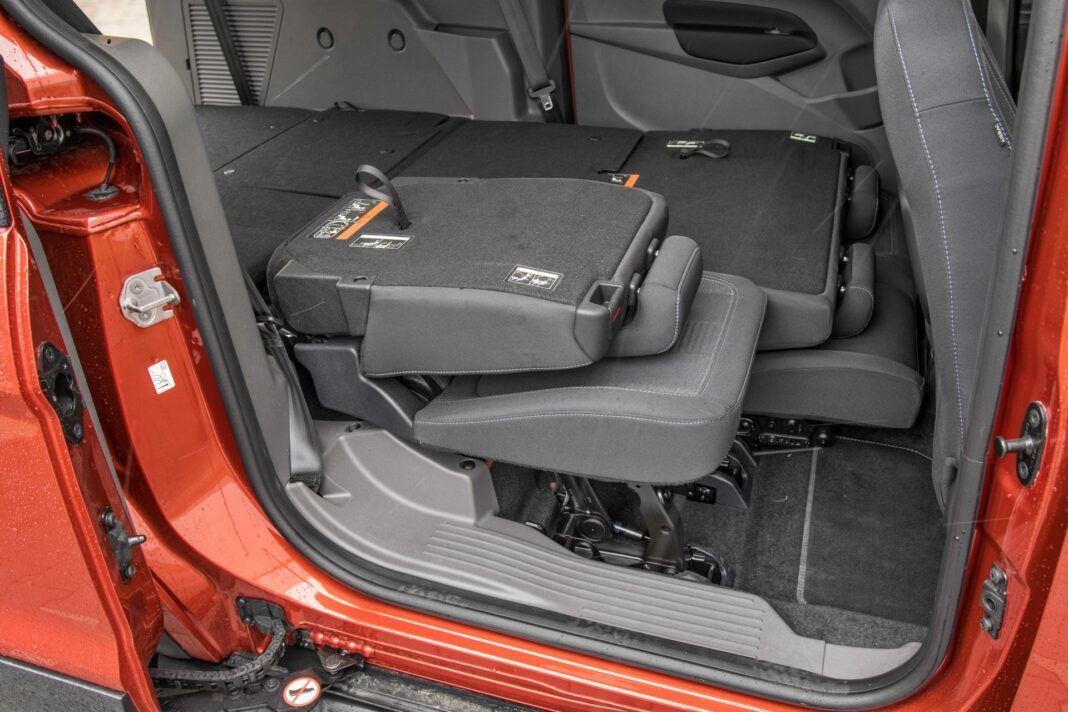 Ford Grand Tourneo Connect - fotel skladanie