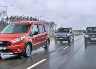 Ford Grand Tourneo Connect, Toyota Proace City Verso, Volkswagen Caddy – PORÓWNANIE