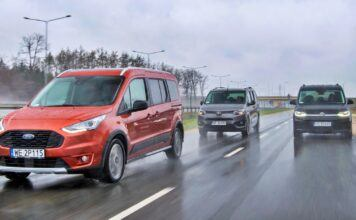 Ford Grand Tourneo Connect, Toyota Proace City Verso, Volkswagen Caddy