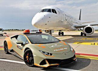 Lotnisko w Bolonii dostało nowe Lamborghini. Jaki to model?