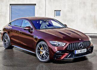 Nowy Mercedes-AMG GT 4-drzwiowe Coupe z bliska – pierwsze wrażenia