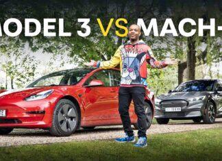 Ford Mustang Mach-E kontra Tesla Model 3 – porównanie