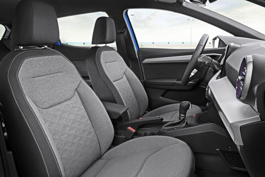Seat Ibiza - fotele przednie