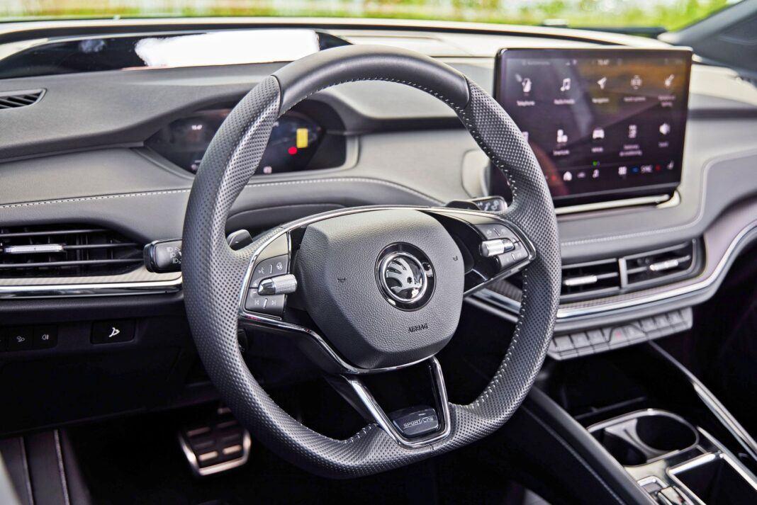 Skoda Enyaq Sportline iV 80x - kierownica