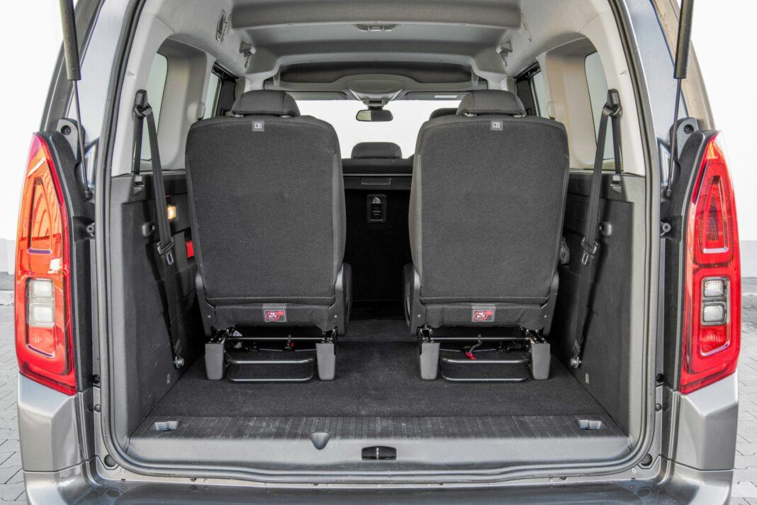 Toyota Proace City Verso - bagażnik