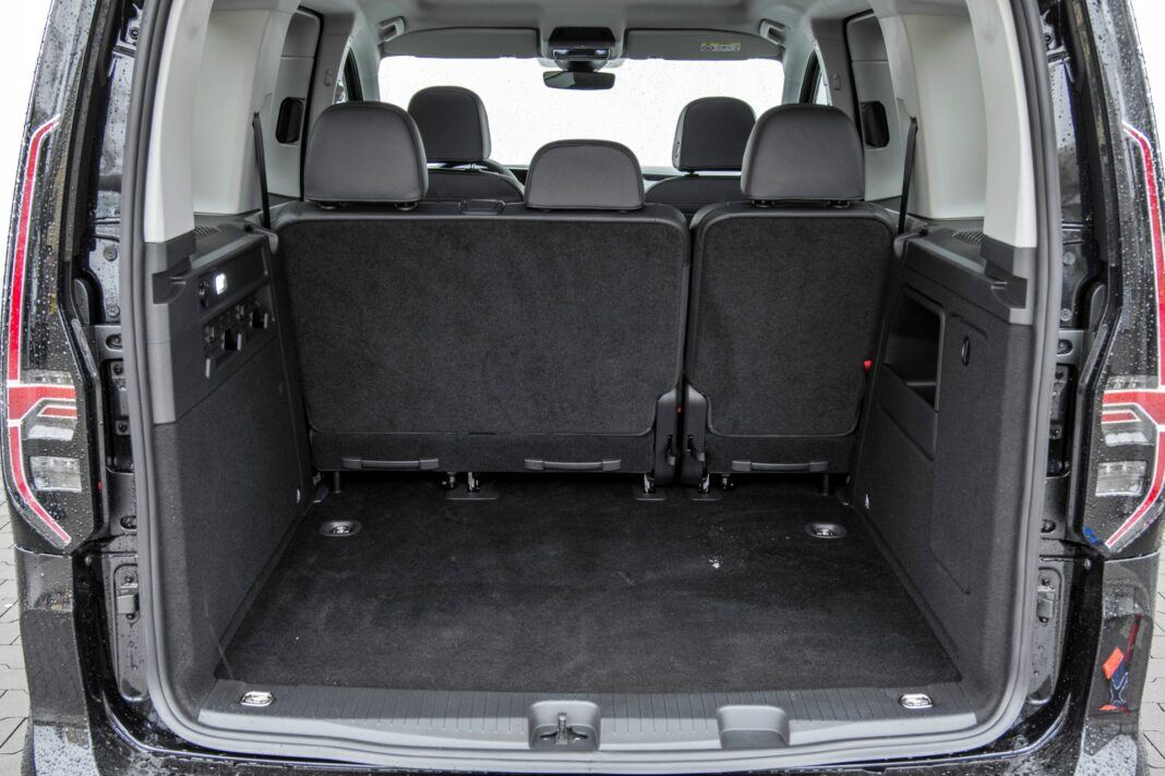 Volkswagen Caddy - bagażnik