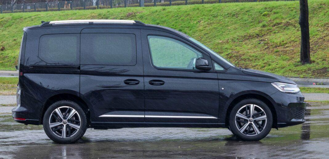Volkswagen Caddy - bok
