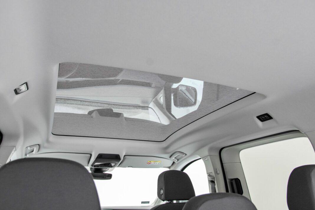 Volkswagen Caddy - dach