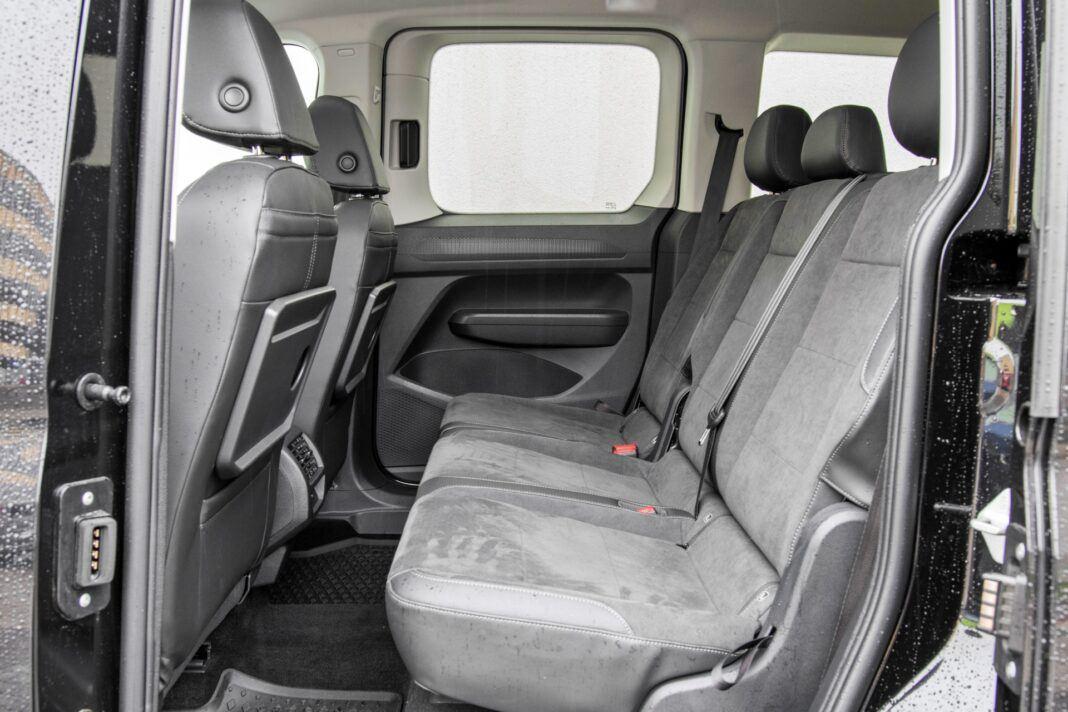 Volkswagen Caddy - kanapa