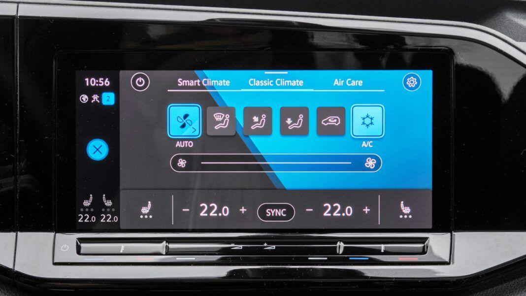 Volkswagen Caddy - klimatyzacja