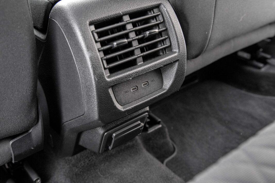 Volkswagen Caddy - nawiewy