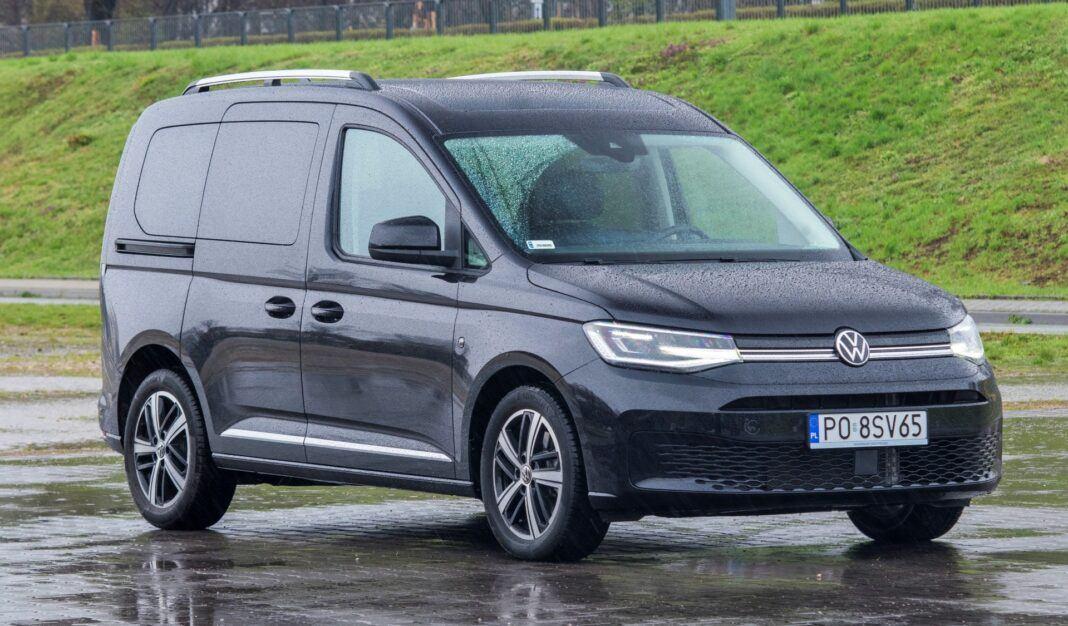 Volkswagen Caddy - przód