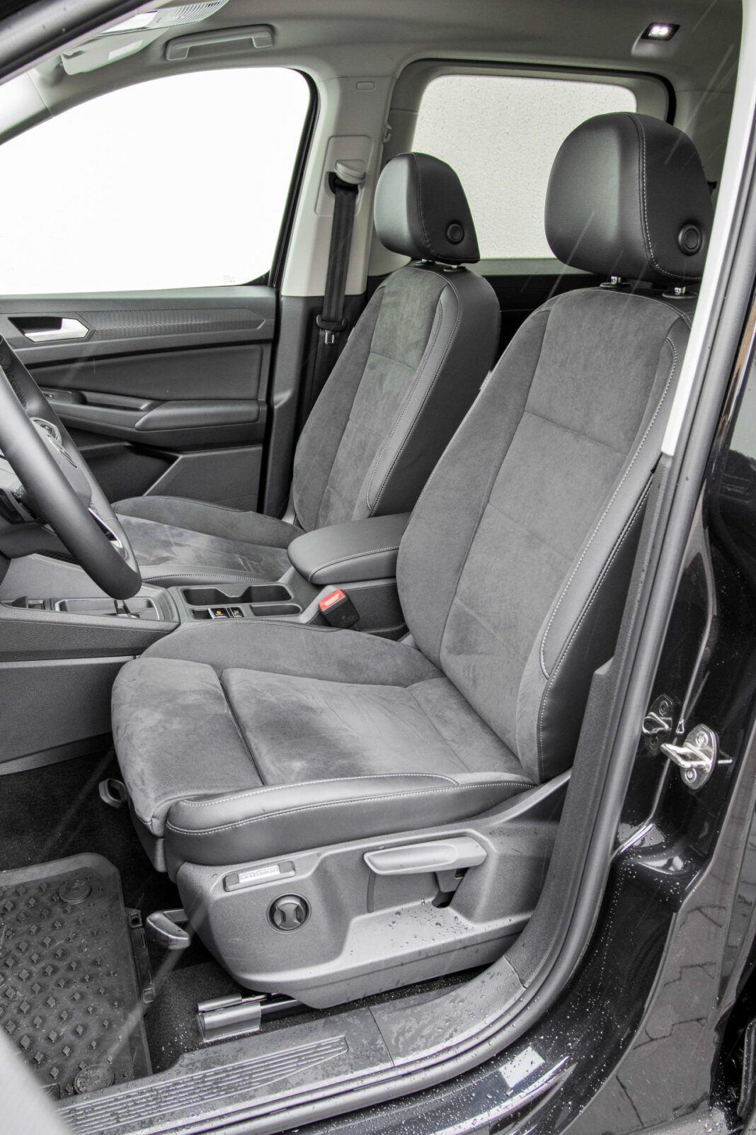 Volkswagen Caddy - siedzenia