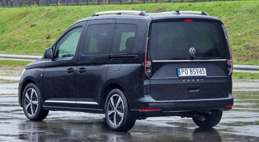 Volkswagen Caddy - tył
