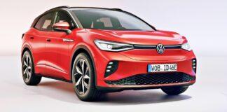 Volkswagen ID.4 GTX - przód