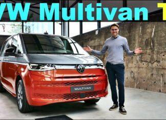 Nowy Volkswagen Multivan z bliska – pierwsze wrażenia