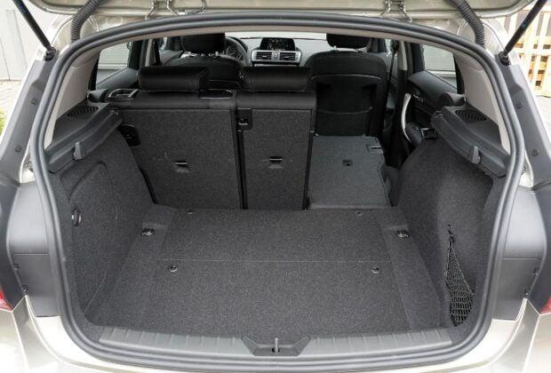 BMW serii 1 F20 - bagażnik