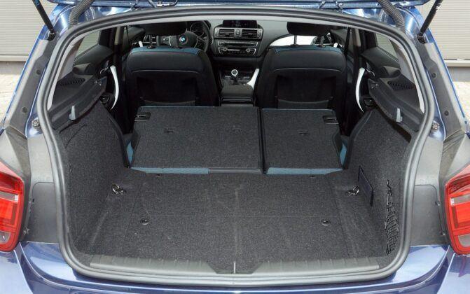 BMW serii 1 F20 bagażnik