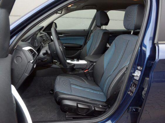 BMW serii 1 F20 fotel kierowcy