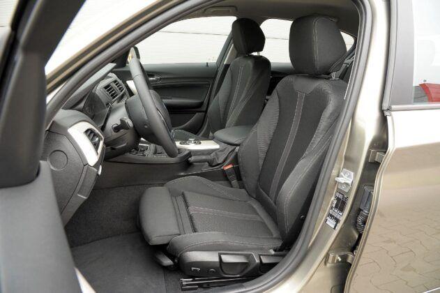 BMW serii 1 F20 - fotel kierowcy