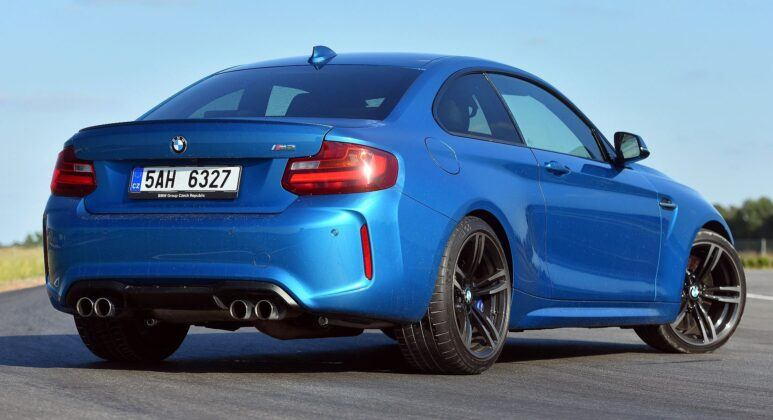 BMW M2 F22 Coupe 3.0T R6 370KM 7AT M DCT 5AH6327 08-2016