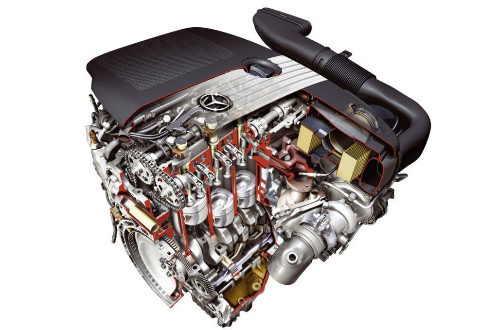 Diesel Mercedes OM651