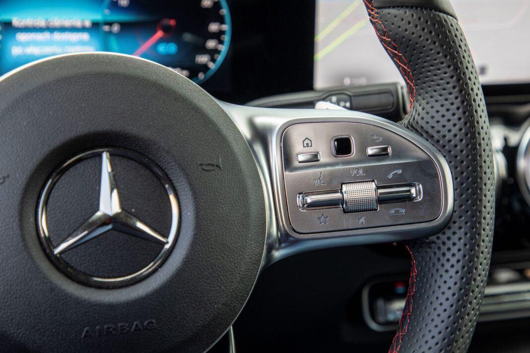 Mercedes GLA - kierownica