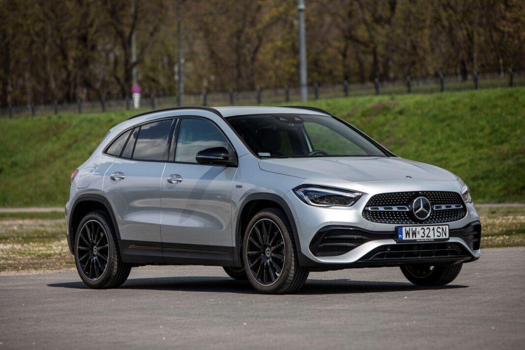 Mercedes GLA - prawy przód